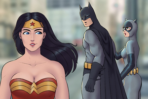 Wonder Woman Batman Wow