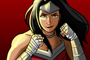 Wonder Woman Cartoon Artworks