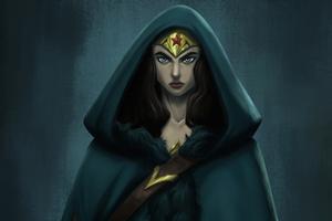 Wonder Woman Character Concept Art Wallpaper