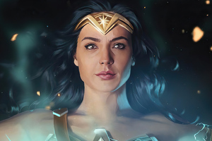 Wonder Woman Closeup 4k Wallpaper