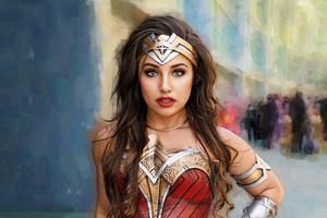 Wonder Woman Comic Con Wallpaper
