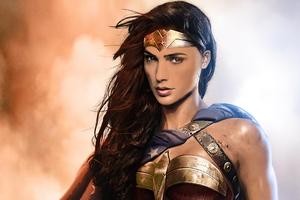 Wonder Woman Comic Fanart Wallpaper