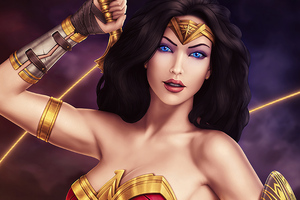 Wonder Woman Comic Girl 4k