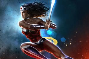 Wonder Woman Comic Hero 4k Wallpaper
