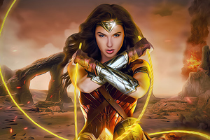 Wonder Woman Coming 4k Wallpaper