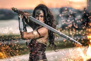 Wonder Woman Cosplay 2017 Wallpaper