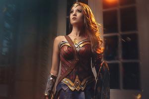 Wonder Woman Cosplay 2021 4k Wallpaper