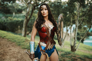 Wonder Woman Cosplay 4k 2019