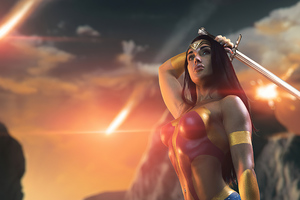 Wonder Woman Cosplay 4k 2020 Wallpaper