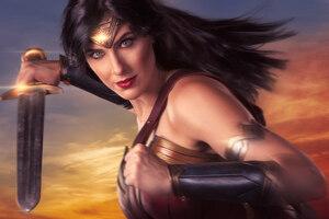 Wonder Woman Cosplay 4k