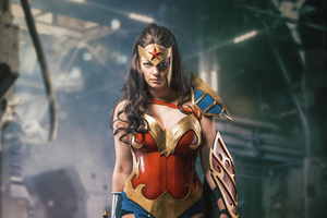 Wonder Woman Cosplay 5k Wallpaper