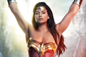 Wonder Woman Cosplay Art 4k