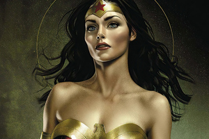 Wonder Woman Cosplay Artwork Wallpaper