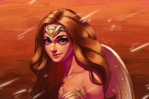 Wonder Woman Cute Art