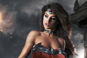 Wonder Woman Cute Cosplay