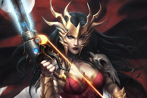 Wonder Woman Dark Nights Death Metal Wallpaper
