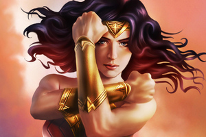 Wonder Woman DC Comic Art