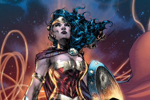 Wonder Woman Dc Comic Artwork