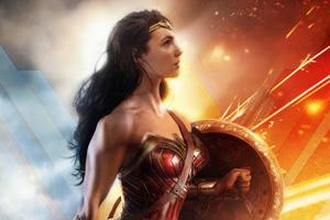 Wonder Woman Dc Superhero Wallpaper
