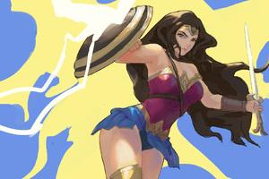Wonder Woman Digital Art