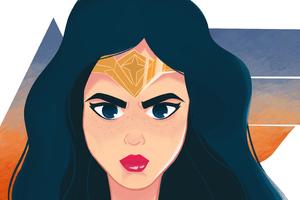 Wonder Woman Digital Arts 4k