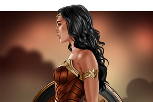 Wonder Woman Digital Artwork 4k