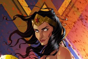 Wonder Woman Digital Artworks 4k