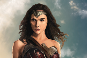 Wonder Woman Digital Artworks
