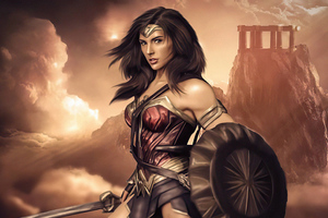 Wonder Woman Digitalart 5k