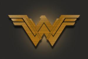 Wonder Woman Emblem 5k Wallpaper