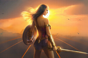Wonder Woman Fan Art Hd