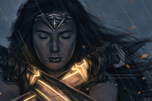 Wonder Woman Fan Art No Mans Land Wallpaper