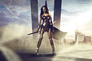 Wonder Woman Fan Made Wallpaper