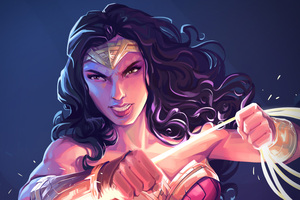 Wonder Woman Fanart 4k