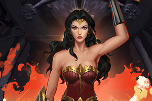Wonder Woman Fanrat Wallpaper