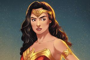 Wonder Woman Gal Gadot 2020 Artwork