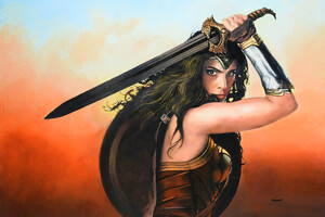 Wonder Woman Gal Gadot 5k Wallpaper