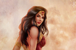 Wonder Woman Gal Gadot Fanart
