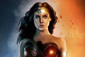 Wonder Woman Gal Gadot Fanartwork