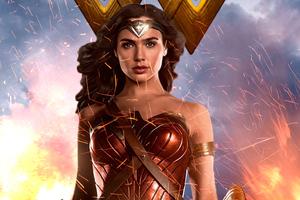 Wonder Woman Gal Gadot New 4k
