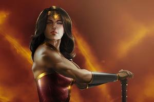 Wonder Woman Girl 2020