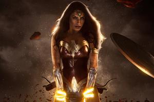 Wonder Woman Girl Cosplay