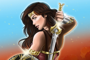 Wonder Woman God Killer Sword 4k Wallpaper