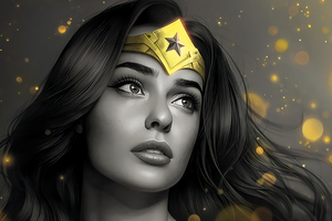 Wonder Woman Gold Queen 4k Wallpaper