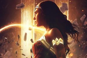 Wonder Woman Gold Queen 5k