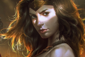 Wonder Woman Golden Queen 4k Wallpaper