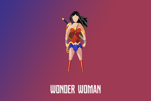 Wonder Woman Illustration 4k