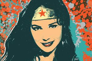 Wonder Woman Illustration 5k