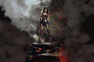 Wonder Woman In Batman V Superman