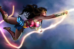 Wonder Woman Injustice Wallpaper